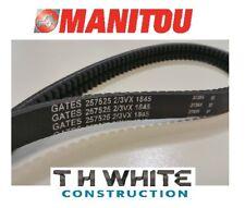 GENUINE MANITOU FAN BELT 257525 MT MLT (MM)