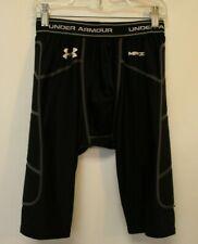UNDER ARMOUR Mens Black MPZ1 Baseball Compression Padded Sliding Shorts - SM