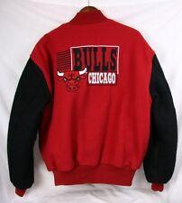 Rare Vintage Unique CHICAGO BULLS 90s Deadstock Wool Varsity Warm Jacket Men XL
