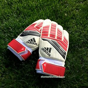 ADIDAS FOOTBALL SOCCER PREDATOR TRAINING POSITIVE CUT RED WHITE BLACK 9