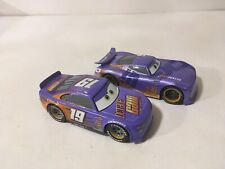 Disney Store Pixar Cars Lot 1:43 Diecast Octane Gain Bobby Swift Daniel Swervez