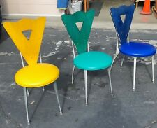 3 Vintage Prototype Shelby Williams Gazelle Chairs