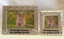 Cat Memorial Photo Frame - 2 Sizes Available