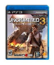 Uncharted 3: Drake's Deception  (Sony Playstation 3, 2011) PS3 FREE Shipping