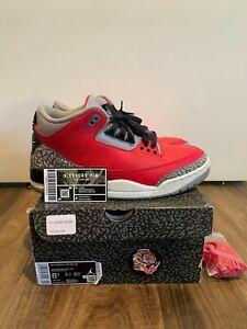 Jordan 3 Retro SE Unite Fire Red CK5692-600 - Size 8.5 (FAST SHIPPING)
