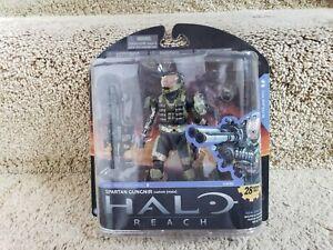 Rare 2010 Halo Reach SPARTAN GUNGNIR Custom Male Action Figure McFarlane Toys