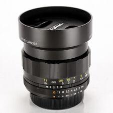 Voigtlander Nokton 58mm f/1.4 MF SL II Lens For Nikon Ai-S << Excellent >>