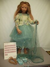 "36.5"" Pre-owned Lenani by Annette Himstedt, Gold Version, from 2006 w/COA & Box"