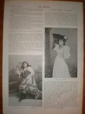 Photo article UK opera 15 yr old Clara Cummings 1894