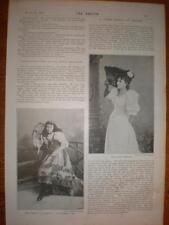Photo article UK opera 15 yr old Clara Cummings 1894
