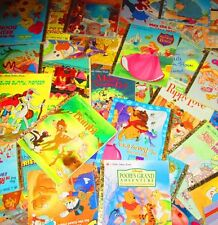 LITTLE GOLDEN BOOK 10 pound FICTION/HARDCOVER Lot -NO DUPLICATES - FREE SHIPPING