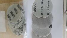 """Sandpaper 3"""" DA 3000 Grit Hook & Loop/ Grip 50 pc  use Wet or Dry"""
