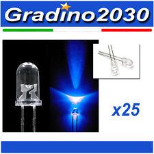 25PZ - Diodo Led 5mm Blu ad alta luminosità