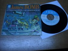 JAMES BOMB 45 EP.  SUPER SNOOPER / GOLD PINKY / DR. OH NO /   VG++.
