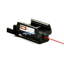 Red Dot Laser Sight Low Profile Picatinny Weaver Rail 20mm  For Pistol Gun Rifle