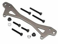 HPI Racing 87551 Rear Shock Mount Plate AGunmetal +12mm Baja 5B SS T SC R TSK HS