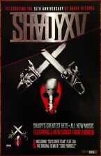 EMINEM Shady XV Ltd Ed Discontinued RARE Poster +FREE Rap Poster! Shady Records