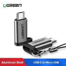 Ugreen Micro USB C Adapter Quick Charge Type C Converter Qc 2.0 for Samsung S7