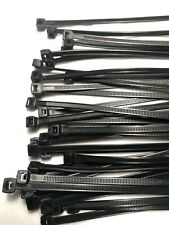 New listing Zip Ties! 14 Inch, Black, 75 Lb, Uv Resistant,Outdoor, Qty 25, Free Shipping!
