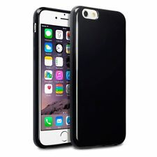 Terrapin TPU GEL Skin Cover Case for Apple iPhone 6 - Solid Black