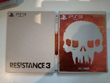 resistance 3 edition spéciale steelbook ps3 ps 3 playstation  3