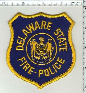 Delaware State Fire-Police 1st Issue Shoulder Patch