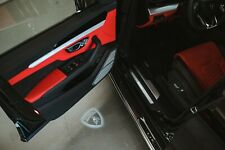 Lamborghini LED Door Lights (shield logo) Huracan & Urus, Fits some Gallardo's**