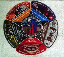 2010 BSA National Jamboree Collector Patch Set Chester County Council