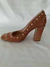 Designer Shoes ALBERTO GOZZI Pumps, Brown, Size 38 EU / 8 US (was $585)
