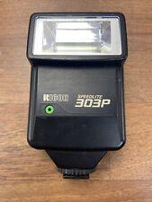 Vintage Ricoh Speedlite 303P Camera Hot Shoe Flash Gun Fixed Position