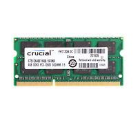 Crucial 4GB 2RX8 PC3-12800 DDR3-1600 DIMM RAM For Mac mini (Late 2012) Laptop