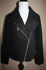 NWT Lululemon Lab Shadow Jacket Coat zip up size 6 small black biker retail $148