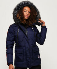 Superdry Womens Canadian Mountain Range Down Parka Jacket