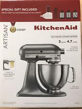 BRAND NEW KitchenAid Artisan 5-qt. mixer with fresh prep slicer/shredder