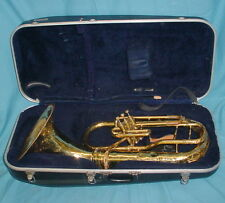 Conn Elkhart Euphonium Tuba E07 w/case ~ in need of repair #8