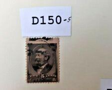 New ListingOld Us stamp 19th Century Lot # D150-.5 Oddity, Misperf.