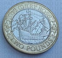 "2011 Royal Mint "" 500th Anniversary Of The Mary Rose "" PROOF  £2 Two Pound Coin"