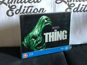 THE THING (la cosa ) BLU RAY- steelbook-Limited Edition-John Carpenter-1° stampa
