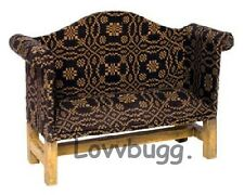 "New Black Sofa Furniture for 18"" American Girl Doll Amazing Selection Lovvbugg"