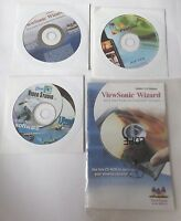 ViewSonic Wizard VX900 LCD Display Installation Disc + Video Studio + VGA PenCam
