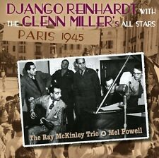 DJANGO REINHARDT WITH GLENN MILLER'S ALL STARS - PARIS 1945 - NEW CD