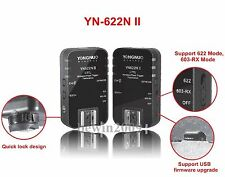 New YONGNUO TTL Flash Trigger YN-622N II for YN-568EX  YN565 EX YN500 EX YN-468