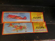 Power Prop Flying Gliders lot of 2 planes # 3 & 4 NEW SEALED