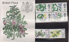 1967 British Flora Stamps in Presentation Pack PP17 original cellophane sleeve