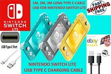 FOR NINTENDO SWITCH LITE USB TYPE C Charging Cable USB TYPE C CHARGE & SYNC WIRE