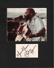 Archie Herman Signed Autographed Cut Matted 11x14 w/COA 073019DBT2