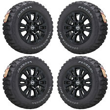 "18"" FITS NISSAN TITAN ARMADA BLACK TRUCK WHEELS RIMS TIRES FACTORY OEM SET 62751"