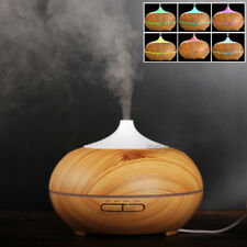 Essential Oil Aroma Diffuser Ultrasonic Humidifier Aromatherapy LED Purifier