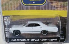 `67 Chevrolet Impala 4Door white 1967 **Greenlight Country 1:64 OVP