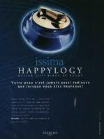 Publicité contemporaine Issima crème de Guerlain 2003 issue de magazine